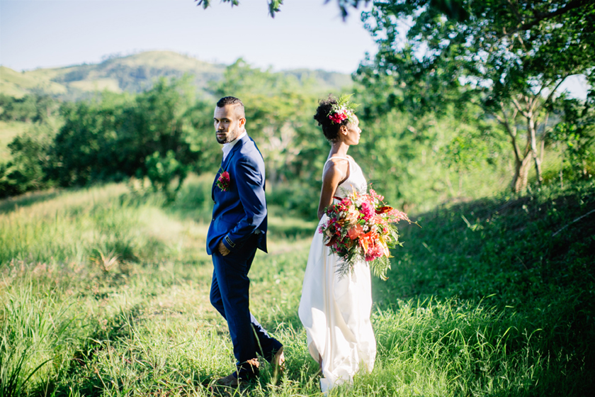 Colourful Fiji Wedding Inspiration