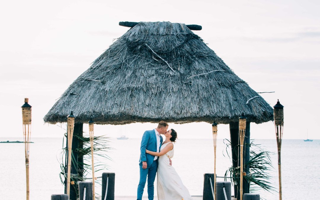 Martin & Sarah — Musket Cove Fiji Wedding