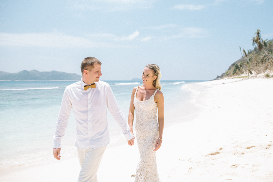 Silver & Onne — Matamanoa Fiji Elopement
