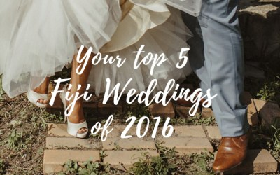 Top 5 Fiji Weddings of 2016