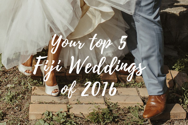 Top 5 Fiji Weddings of 2016