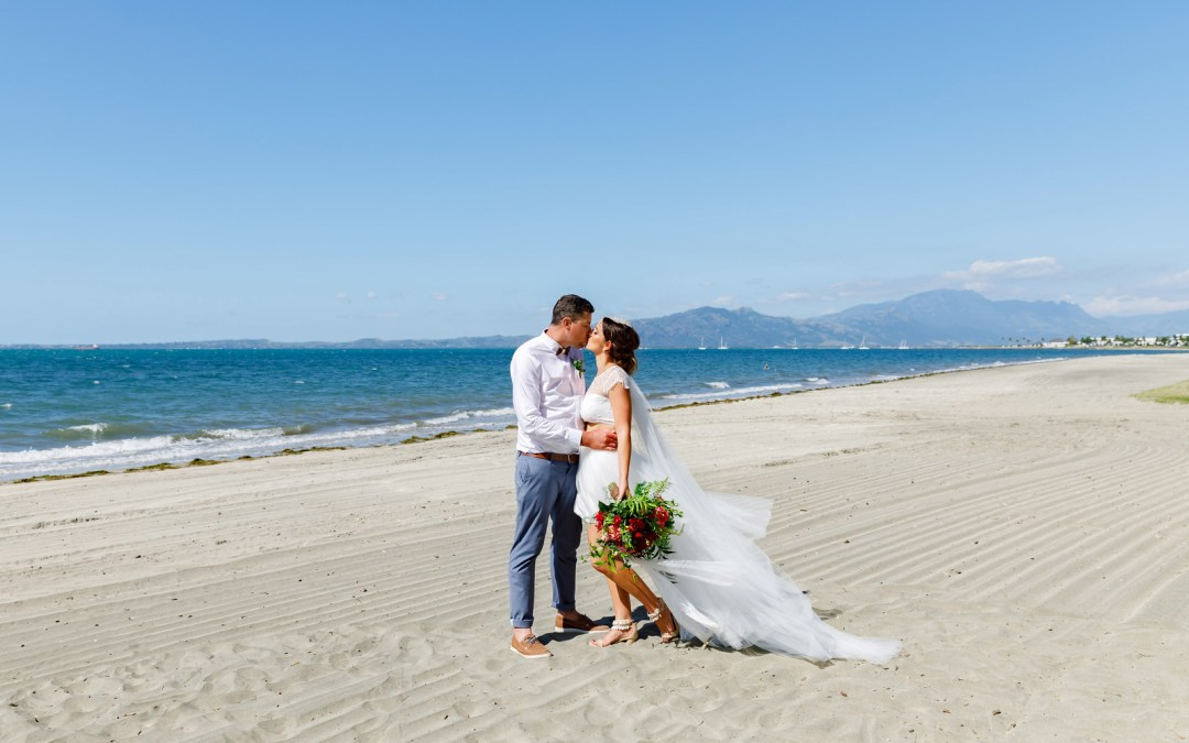 Pat & Marley — Sofitel Fiji Wedding