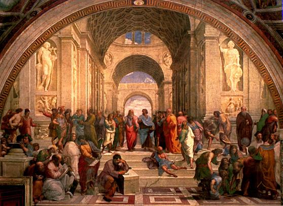 Mapa myśli - Szkoła Ateńska