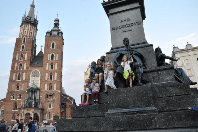 Kraków - Pomnik A.M.