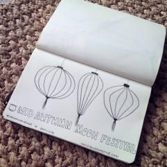 #Spoonflower 16 Skyline Lanterns