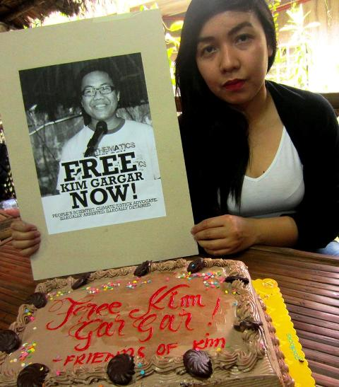 Kim Gargar's sister Ivy calls for the immediate release of her brother from detention. (Photo courtesy of Free Kim Gargar Now)