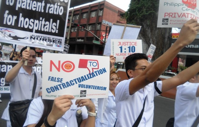Health workers call for wage hike, decry contractualization, privatization of health services