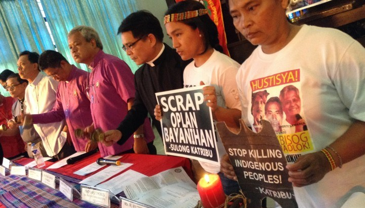 Bishops hold Aquino accountable over torching of Lumad sanctuary