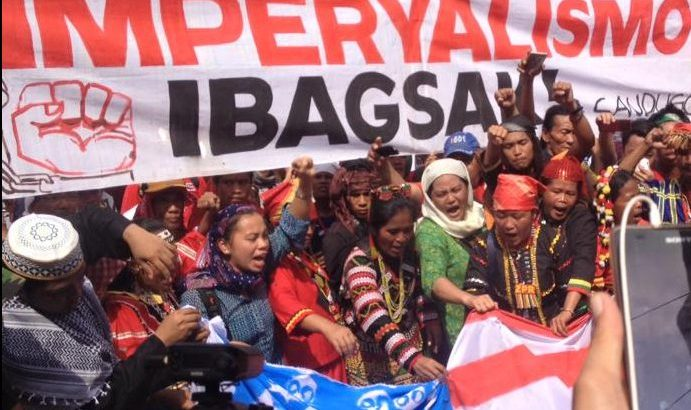 National minority alliance calls to 'end US imperialism'