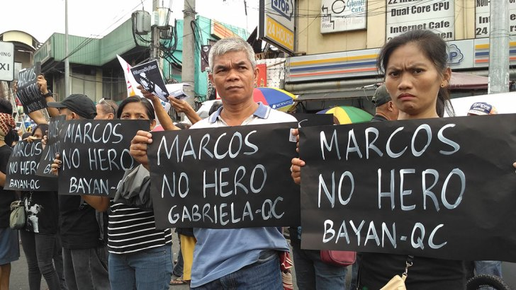 Activists slam hasty burial of Marcos at Libingan