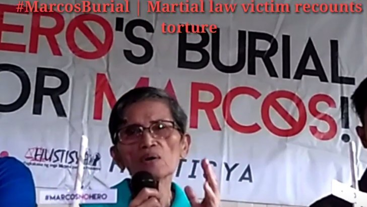#MarcosBurial | Martial law victim recounts torture