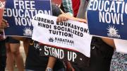 'Duterte's free tuition policy is a lie' – youth groups