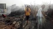 Fisherfolk, urban poor suspect deliberate burning down of their community