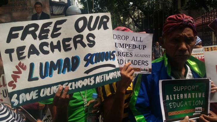 Groups call for the release of detained Lumad educators