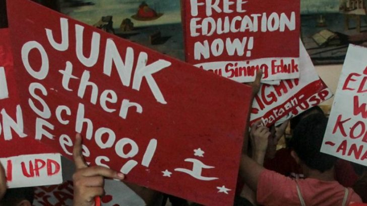 Makabayan solons push for inclusion of budget   for free college education for 2018
