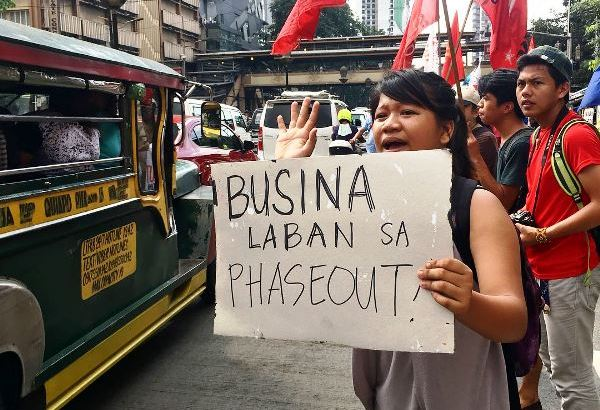 Tugade timeout | Senate hearing on jeepney phaseout reset for Dec. 11 as protesters face repression