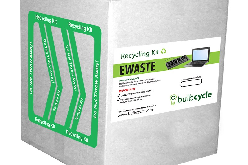 Electronics Recycling Box