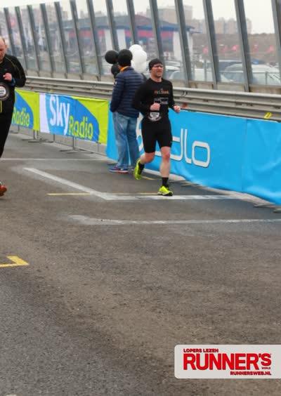 Zandvoort Circuit Run 2016 Finish Groot