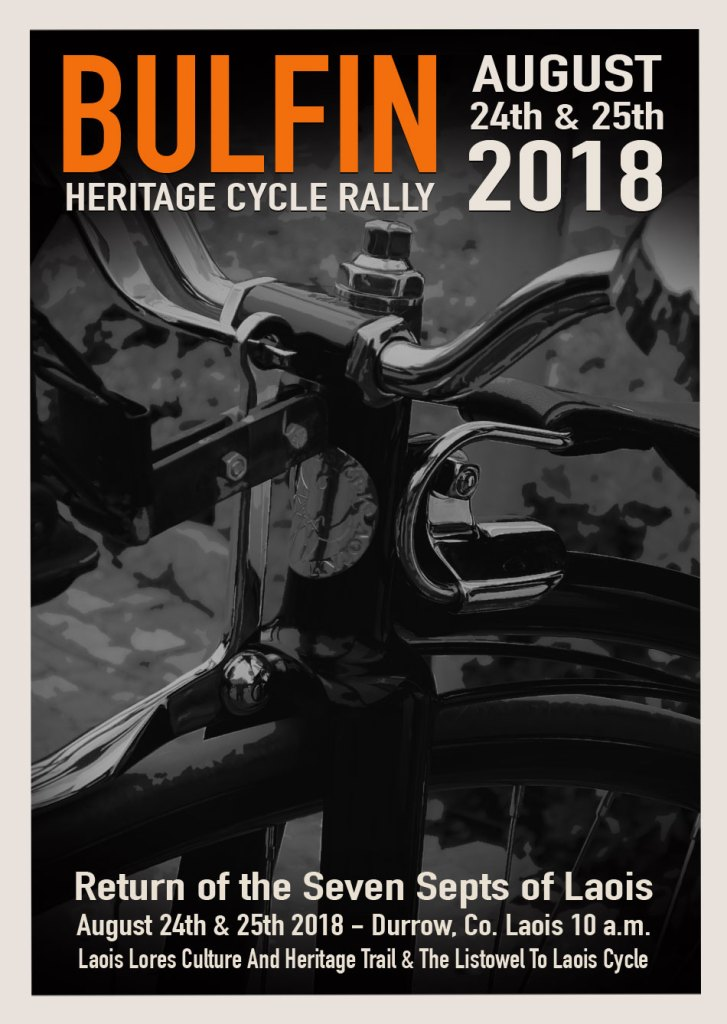 Bulfin Heritage Cycle Rally 2018 Poster