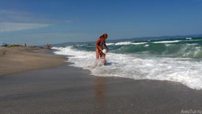 Поморие дикий пляж