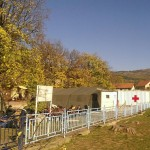 Camp in Dimitrovgrad/Serbia
