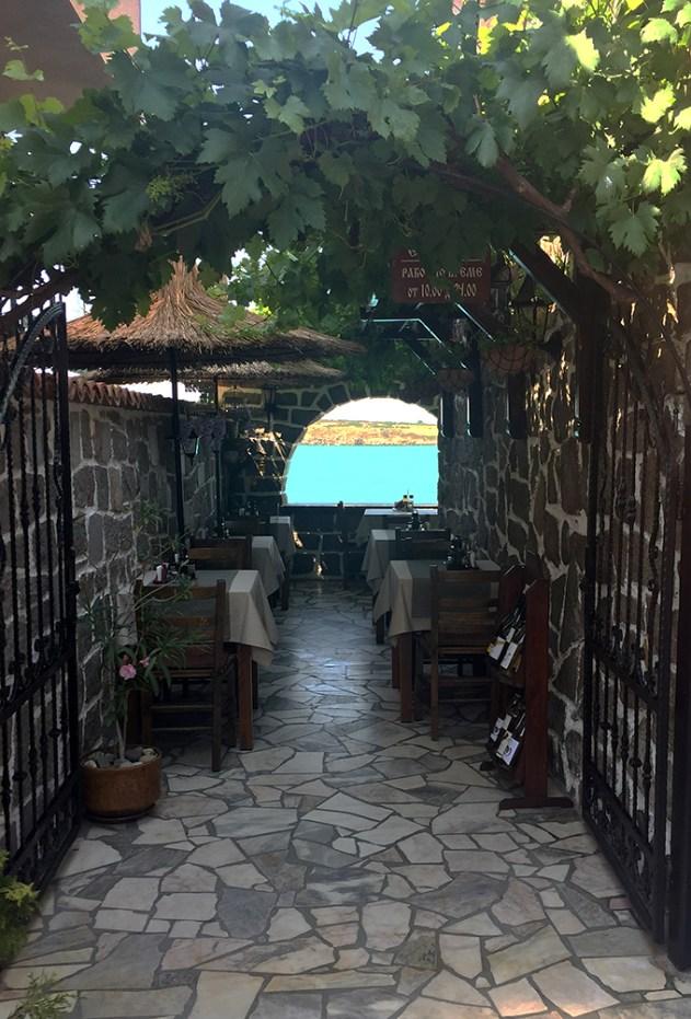 Ravintola näköalalla Sozopol