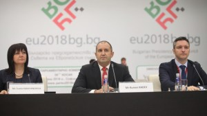 President Radev praises the government for the 'success' of the presidency