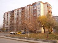 The blok at 78 Petar Bonev Street, our home in Pazardjik.