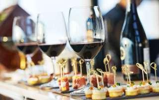 wine and food