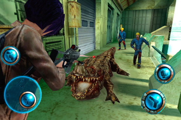 Resident Evil But Not Zombie Infection IPhone