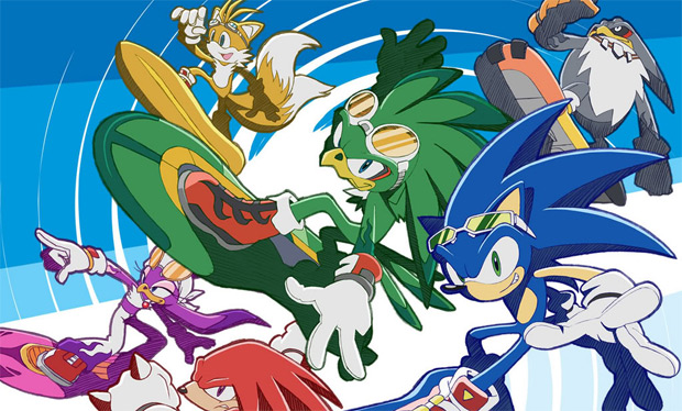 Rumor XBLA Getting Natal Focused Sonic Free Riders