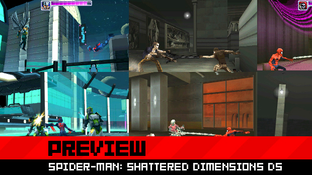 Hands On Spider Man Shattered Dimensions For The DS