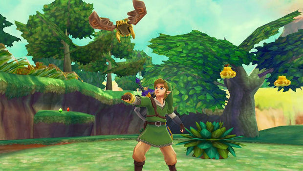 Zelda Skyward Sword Getting Item Upgrade System