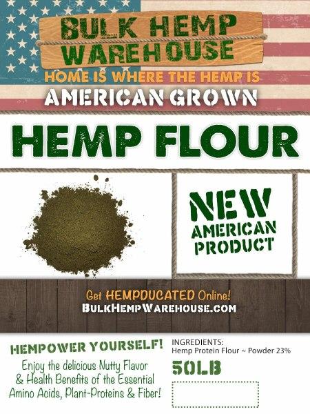 Hemp Portein Flour 23% - USA