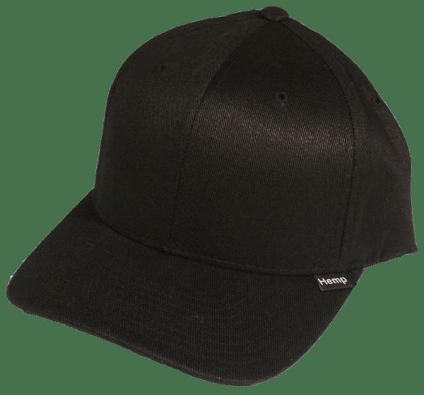 Black Custom Blank Hemp Hat