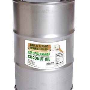 Certified Organic Raw - Extra Virgin Coconut Oil Bulk 55Gal Drum/Barrel