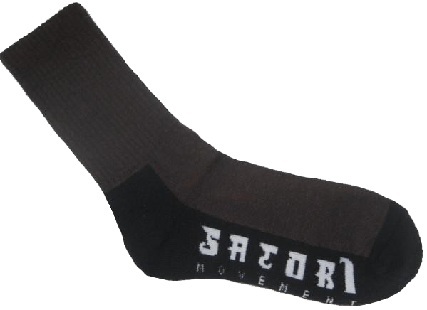 Satori Hemp Socks - Black