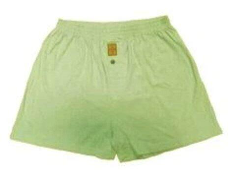 Hemp Organic Cotton Men's Boxers - Terpene Green