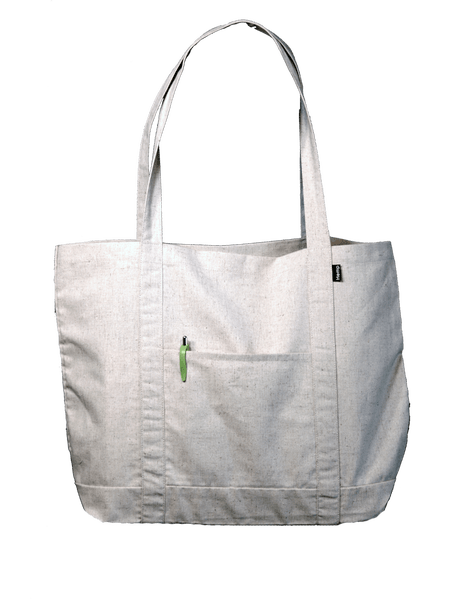 Hemp Grocery Tote Bag - Content Poly Cotton