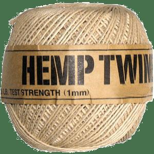 1mm Hemp Twine Ball