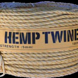 Hemp Twine - 5mm | 120ft Coil