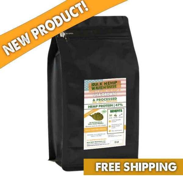 5lb USA Hemp Protein 47% Bulk Wholesale