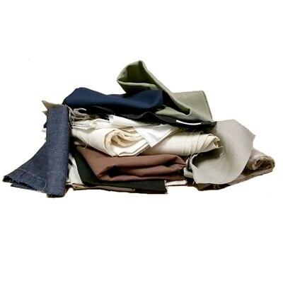 Woven Hemp Scrap Fabrics