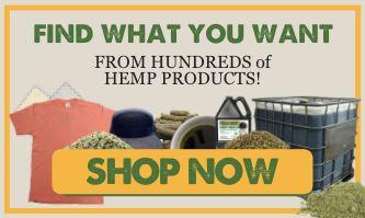 SHOP Bulk Hemp Raw Goods