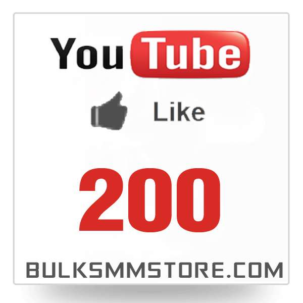 Real 200 Youtube Likes