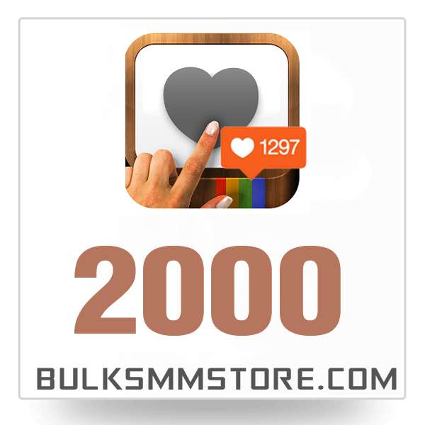 Real 2000 Instagram Likes