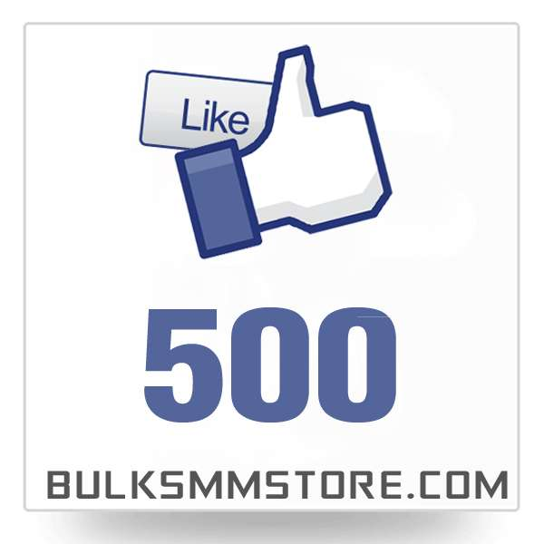 Real 500 Facebook Page Likes