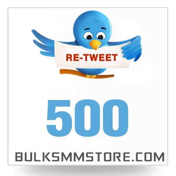 Real 500 Twitter Retweet
