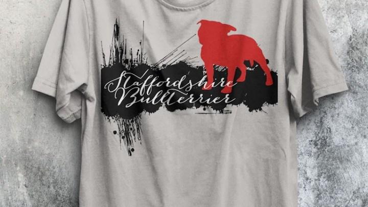 Staffordshire Bullterrier Motive