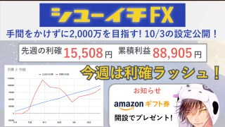 シューイチFX|トラリピ攻略|1003.001